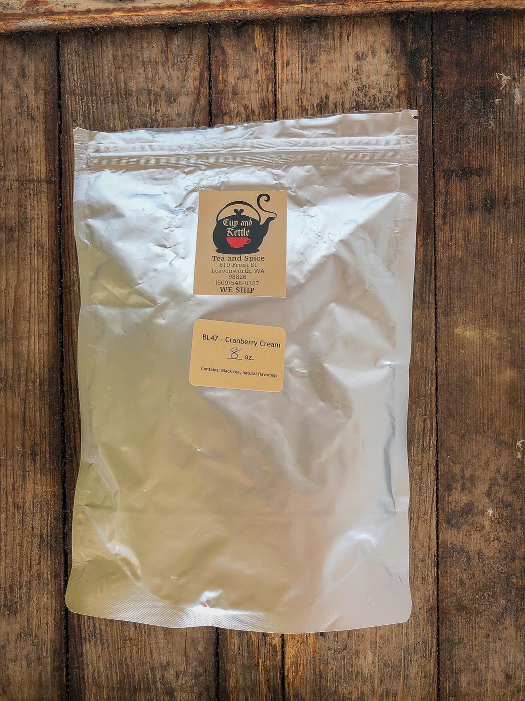 Bag of Cranberry Cream Tea
