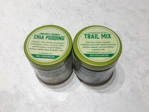 Farmers Fridge Pudding and Trailmix