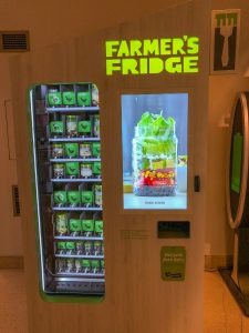Farmer's Fridge Vending Machine
