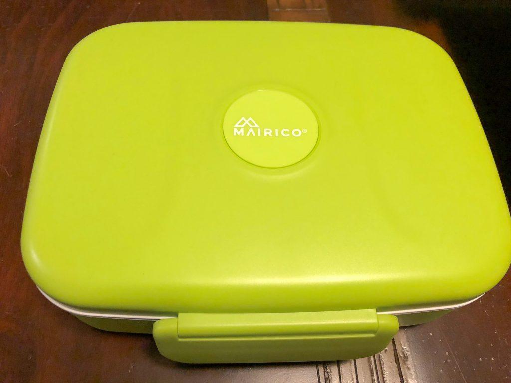Green bento box