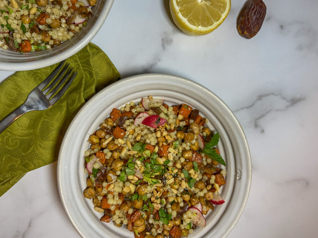 Bowl of veggies and grains