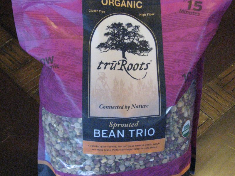 Sprouted Bean Trio bag
