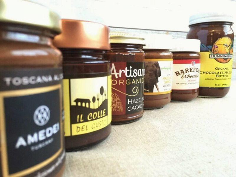 Chocolate-hazelnut spread line-up